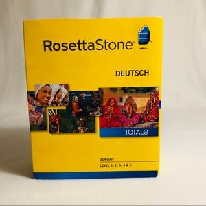 NIB Rosetta Stone German language Levels 1-5